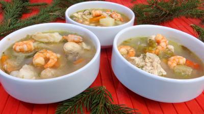 Image : Soupe de crevettes