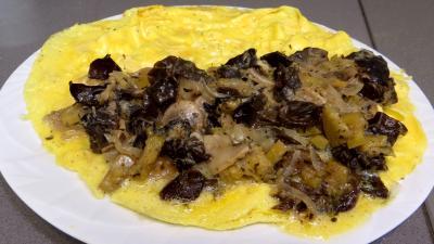 Omelette farcie aux champignons - 8.1