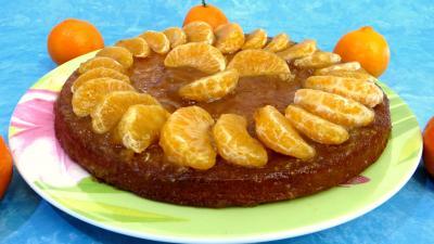 Recette Gâteau aux clémentines