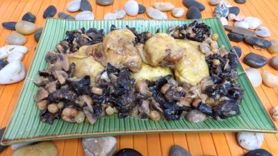 Volailles et gibiers : Plat de poulet à la bière