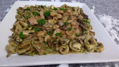 Rognons d'agneau sauce moutarde - 5.3