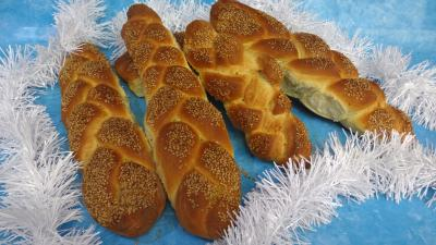 Pains & pâtes : Pain challah