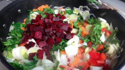 Soupe de légumes et tomme de brebis - 5.3
