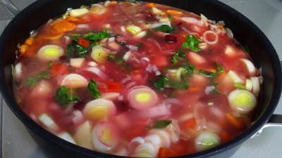 Soupe de légumes et tomme de brebis - 6.1