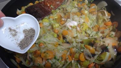 Tranches de gigot aux carottes - 7.4