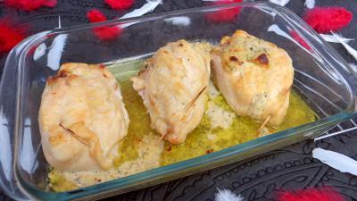 moutarde : Roulés de poulet