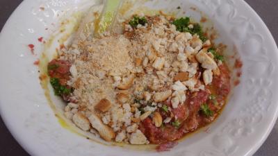 Raviolis frais à la sauce tomate - 4.3