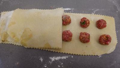Raviolis frais à la sauce tomate - 6.2