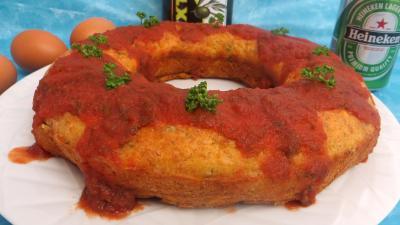 saint marcellin : Couronne au jambon