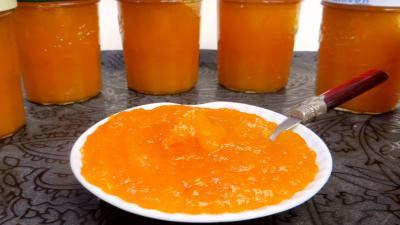 Abricot sec : Confiture d'abricots secs et pommes