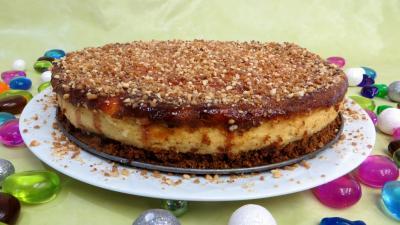 ricotta : Cheesecake à la vanille