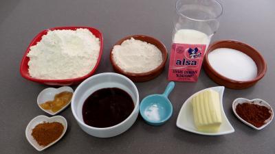 Ingrédients pour la recette : Biscuits de Pâques à la cannelle
