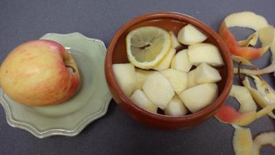 Foies de volaille aux pommes - 2.1