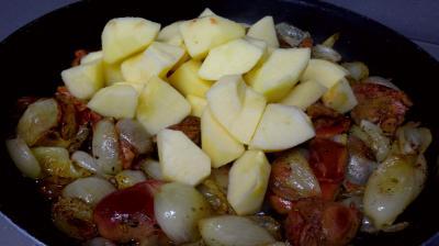 Foies de volaille aux pommes - 4.3