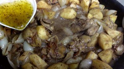 Foies de volaille aux pommes - 5.3