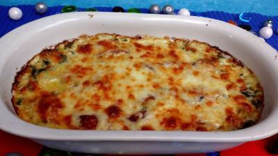 Recette Gratin de blettes aux fromages