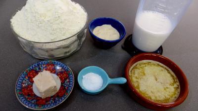 """Ingrédients pour la recette : Pain turc """"Sherazade"""""""