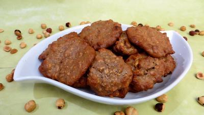 farine de sarrasin : Douceurs aux noisettes