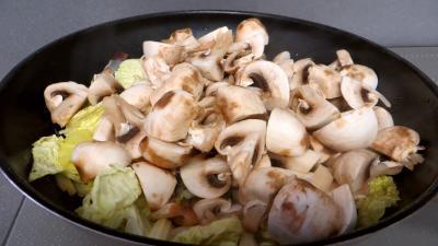 Filet de perche aux champignons - 6.1