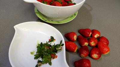 Salade de fraises et de fruits secs - 2.1