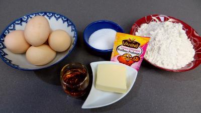 Ingrédients pour la recette : Gougnettes