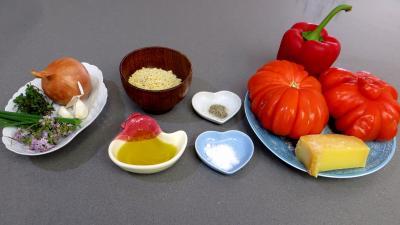 Ingrédients pour la recette : Potage à la tomate