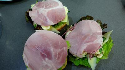 Sandwichs champignons et beurre d'ail - 2.4