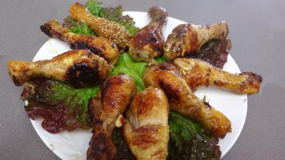 Pilons de poulet aux graines de sésame - 4.1