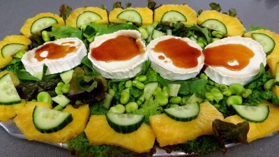 Salade de chèvre au caramel - 7.1