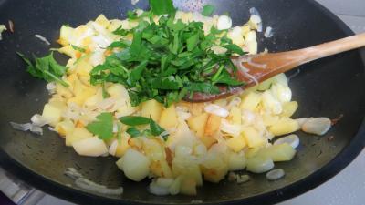 Gâteau de poireaux et pommes de terre - 4.2