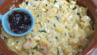 Gâteau de poireaux et pommes de terre - 5.4