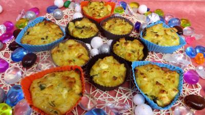 Recette Gâteau de poireaux et pommes de terre