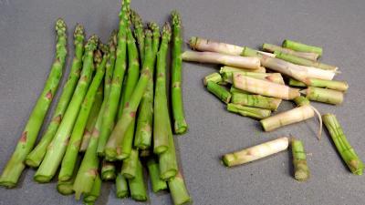 Poêlée d'asperges et fèves - 1.1