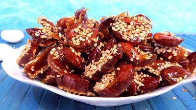 Recette Amandes caramélisées aux graines de sésames