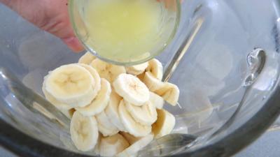 Gâteau mousse de bananes - 1.3