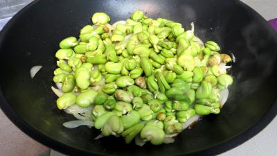 Velouté de fèves au chèvre frais - 3.3