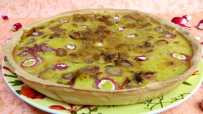 Tarte aux fromages frais et radis - 6.4
