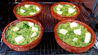 Croustillants de pommes de terre à l'oseille et crevettes - 4.3