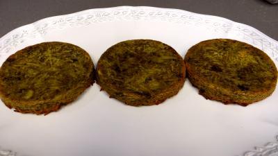 Croustillants de pommes de terre à l'oseille et crevettes - 5.1