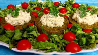 Recette Croustillants de pommes de terre à l'oseille et crevettes