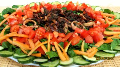tomate : Blettes aux encornets