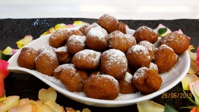 Cuisson au bain de friture : Beignets de pommes de terre