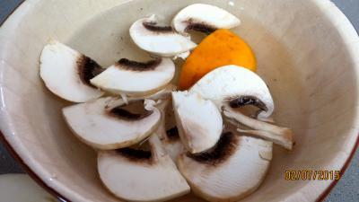 Jambon et foie de veau aux champignons - 2.3