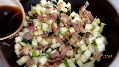 Jambon et foie de veau aux champignons - 5.3