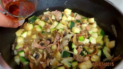 Jambon et foie de veau aux champignons - 7.1