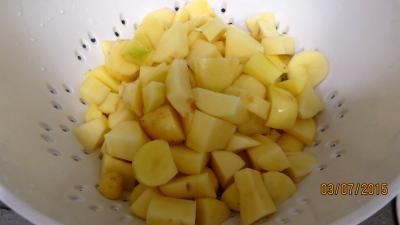 Chiffonnade de laitue aux lardons - 3.4