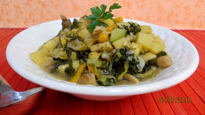 origan : Etuvée de légumes