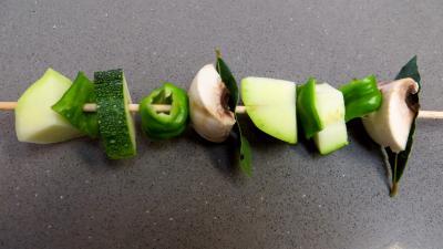 Brochettes de légumes à la plancha - 6.4