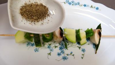 Brochettes de légumes à la plancha - 7.2
