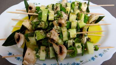 Brochettes de légumes à la plancha - 7.4